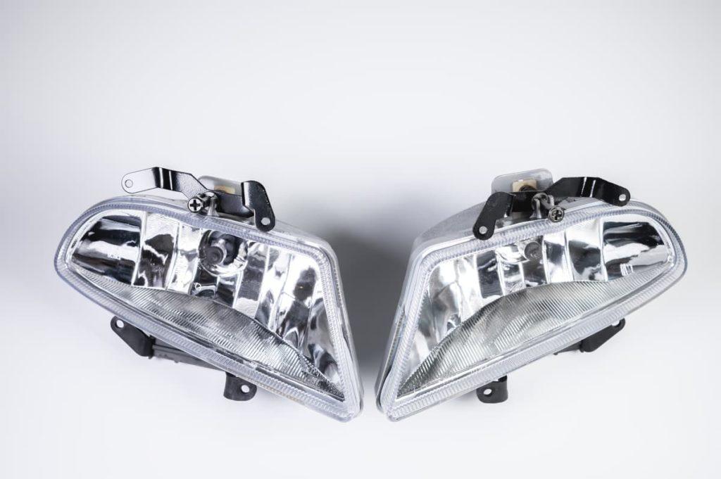 new car plastic Headlight