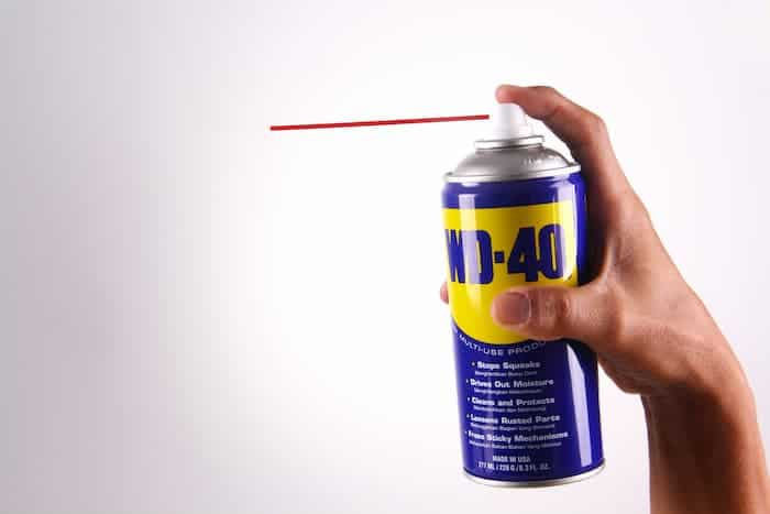 How to clean headlight with wd-40