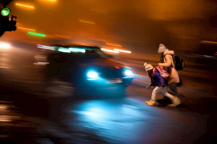 Accidents can be caused by emission of Light from Car Headlights