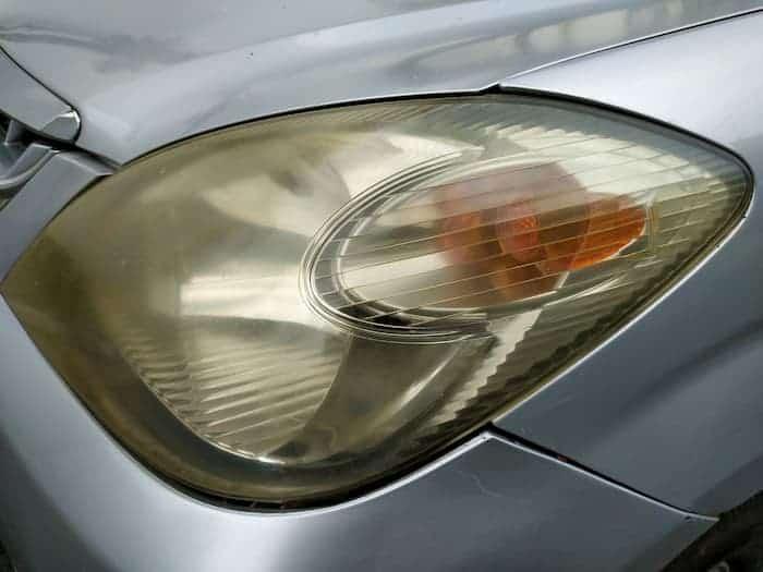why headlights still look foggy