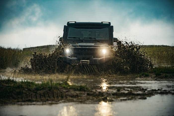 How to replace headlights on Land Rover